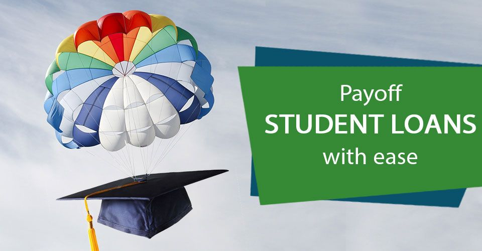 How can debt consolidation help to pay off the student loan?