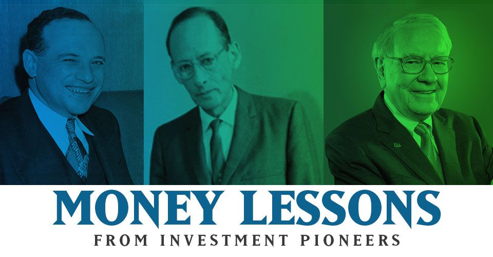 Important Money lessons from the 3 biggest investors ever!